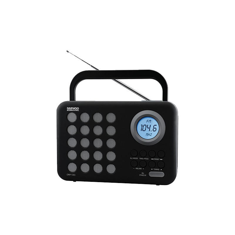 Radio digital DAEWOO DRP-120 gris