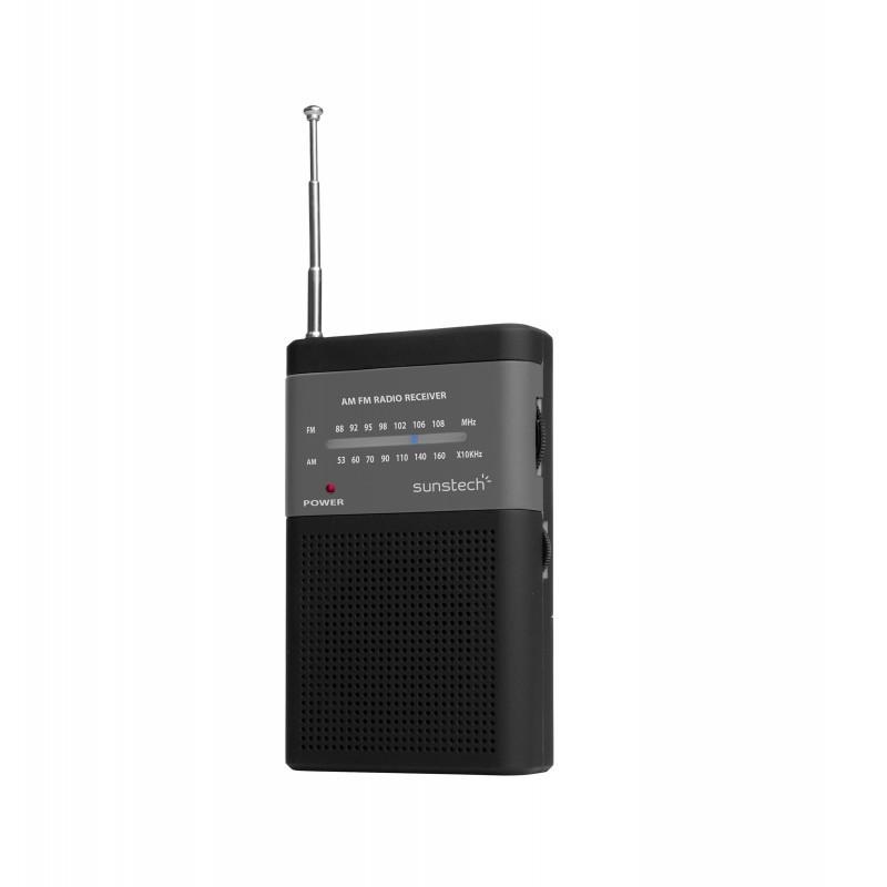 Radio portátil SUNSTECH RPS42BLIS negra