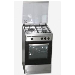 Cocina ROMMER VCH356XFG inox nat