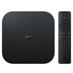 XIAOMI mi tv box S negro con Android tv