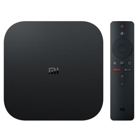 XIAOMI mi tv box S negro con Android tv