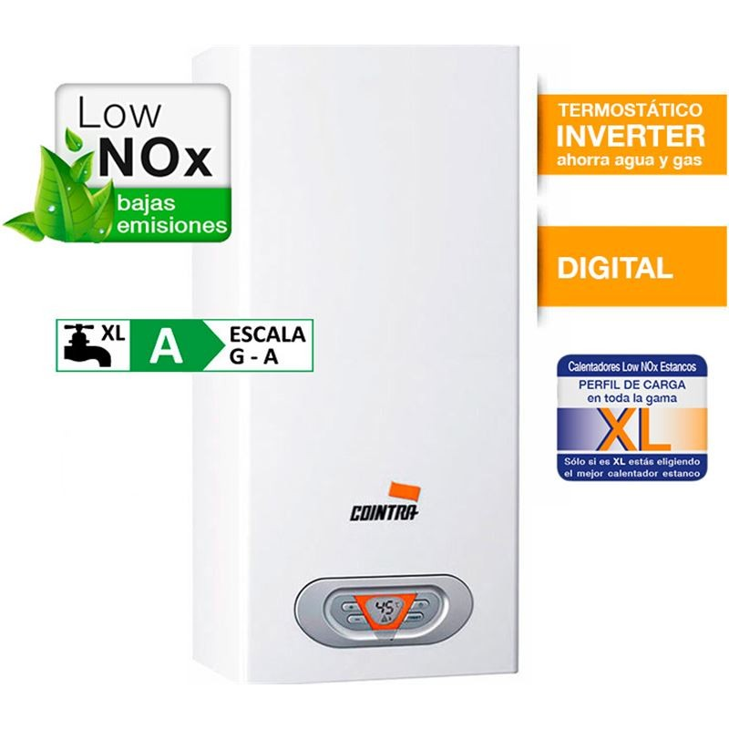 Calentador COINTRA V1516 CPE10TN 10L Gas Natural