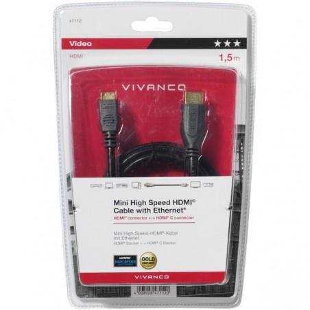 Cable mini hdmi ethernet 1.5M NE_42112