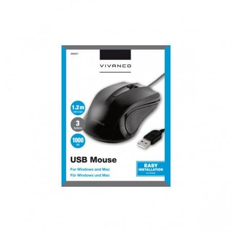 Ratón VIVANCO itms USB opt
