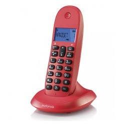Teléfono dect MOTOROLA C1001 lb cereza