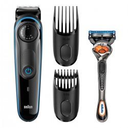 Afeitadora BRAUN barbero bt 3940