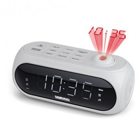 Radio reloj DAEWOO DCP490-W