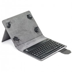 Funda universal tablet teclado bluetooth mai