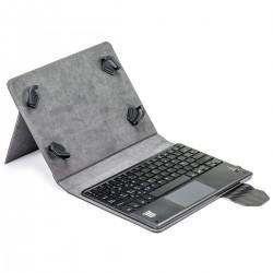 Funda universal tablet teclado btooth/touchp