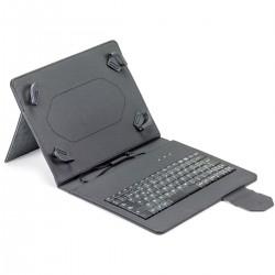 Funda universal tablet teclado MAILLON URBAN negra