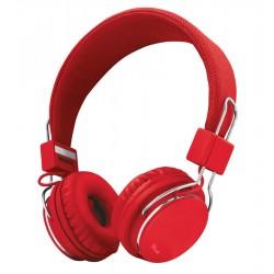 Auriculares TRUST ziva rojos