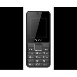 Teléfono libre QUBO X119 negro