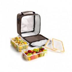 Porta-Alimentos IBILI lunch away peach 7