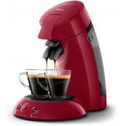 Cafetera expressphilips HD6554/91 roja