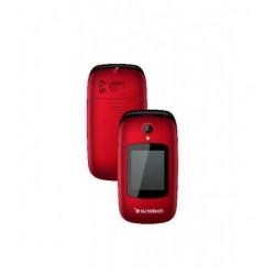 Teléfono con tapa libre SUNSTECH CELT22RD