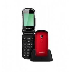 Teléfono con tapa libre SUNSTECH CELT17RD