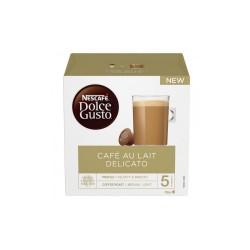 Cápsulas dolce gusto café con lehe delic