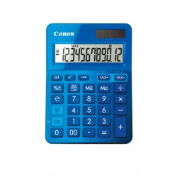 Calculadora CANON LS-123K-MBL dbl azul