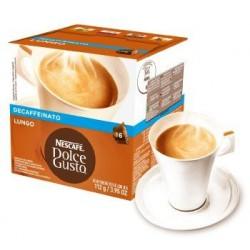 Cápsulas dolce gusto caffe lungo descafe