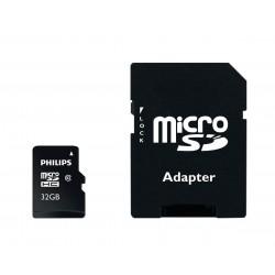 MicroSDHC PHILIPS 32GB clase 10