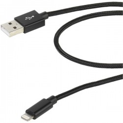 Cable VIVANCO USB a - lightning 1,5M neg