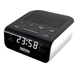 Radio despertador DAEWOO DCR46 blanco