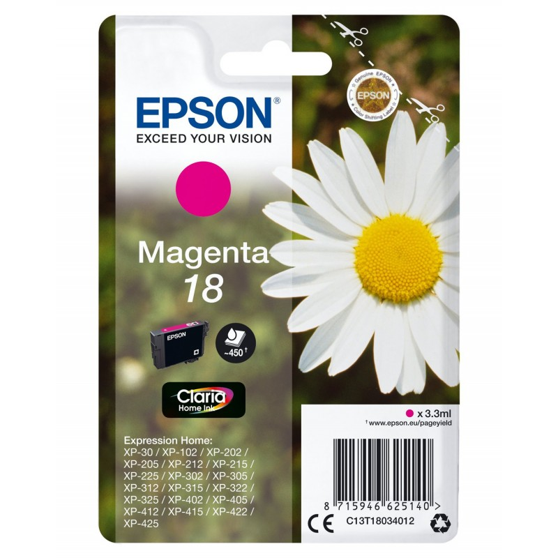 Cartucho EPSON C13T18034012