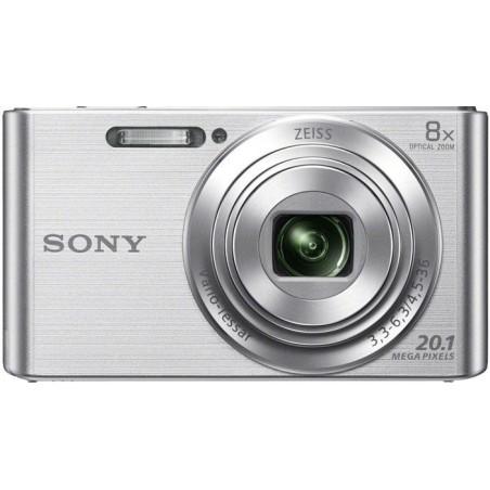 Cámarafotos digital SONY DSCW830S plata ki