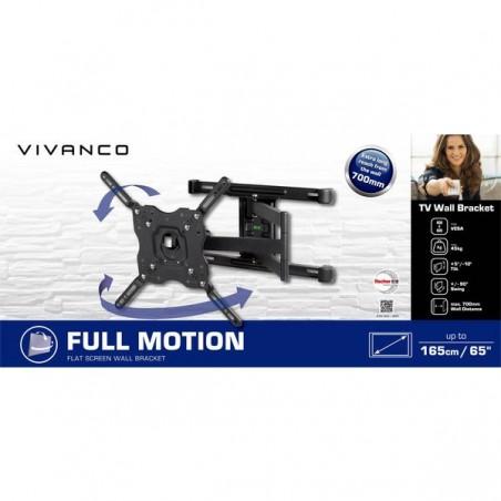 Soporte VIVANCO 60' doble brazo 38004