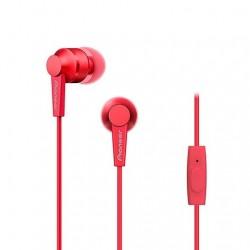 Auricular PIONEER SE-C3T rojo