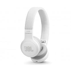 Auricular JBL live 400 bt blanco