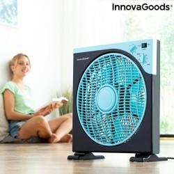 Ventilador box INNOVAGOODS 㘠30 cm 50W