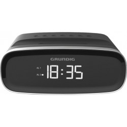 Radio despertador GRUNDIG scn 120 negro