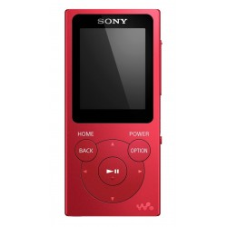 Reproductor MP3 SONY NWE394R rojo