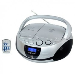 Radio cd bluetooth NEVIR NVR480UB MP3 pl