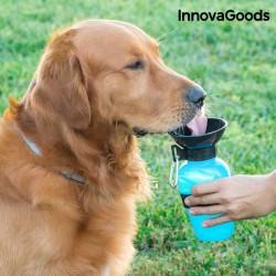 Botella INNOVAGOODS bebedero agua perros