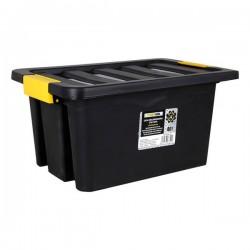 Caja tools con tapa brico 40 l negro
