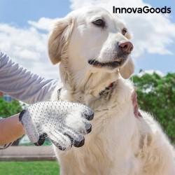 Guante para cepillar y masajear mascotas