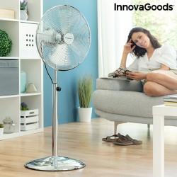 Ventilador chrome retro innovagoods 㘠4
