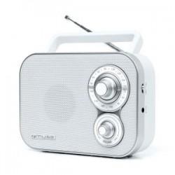 Radio portátil muse M-051 rw blanco