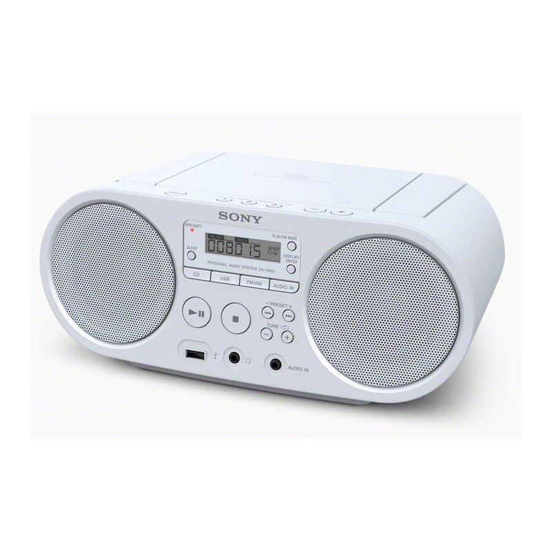 Radio cassette SONY ZSPS50WCED