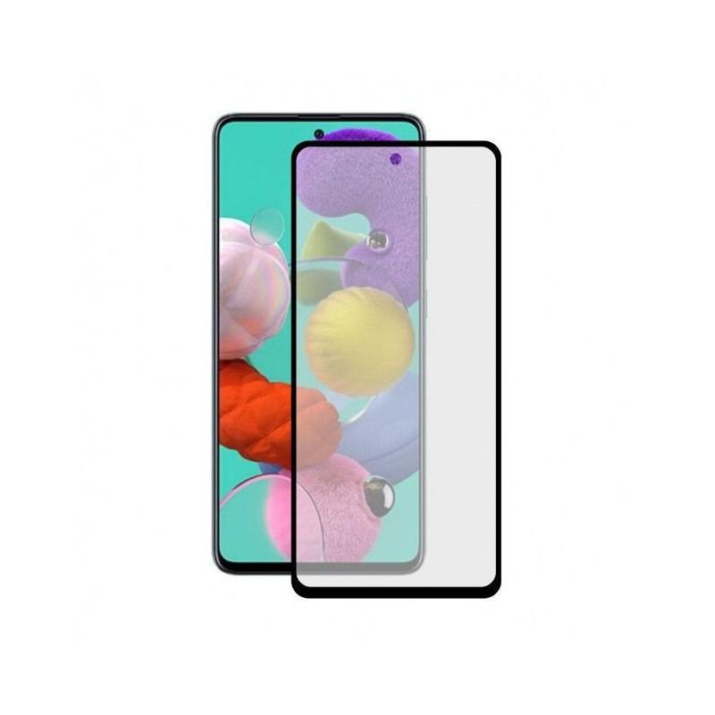 Protector vidrio templado para Smartphone Galaxy A71 negro