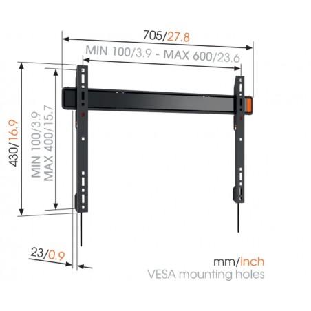 Soporte VOGELS 40-100´´ fijo vesa 400X60