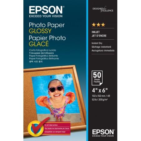 Papel foto EPSON glossy 10X15 50 hojas