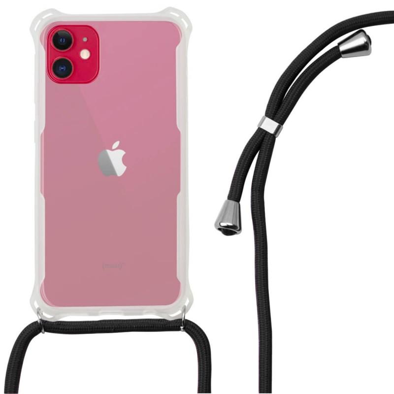 Funda cordon tpu transparente iphone 11