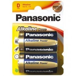 Pack 2 pilas PANASONIC LR-20