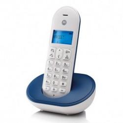 Teléfono dect MOTOROLA T101 azul