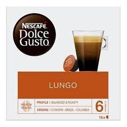 Cápsulas dolce gusto caffe lungo