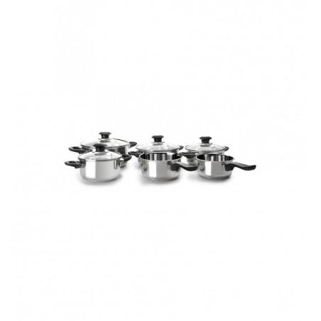 Batería de cocina IBILI 6 piezas optima