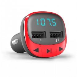 Mp3 car energy sistem FM red
